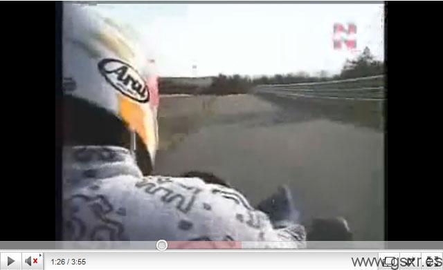 video kart suzuki gsxr motor