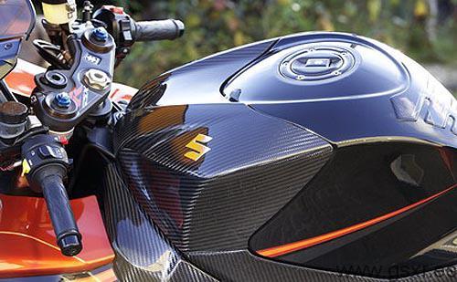 tapa deposito carbono suzuki gsxr 1000 2007 K7