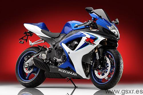 suzuki gsx-r 600 750 accesorios motos rizoma