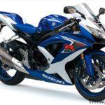 suzuki gsxr 600 2008 k8 blanca azul