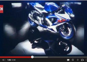 video presentacion suzuki gsxr 750 2008 paris