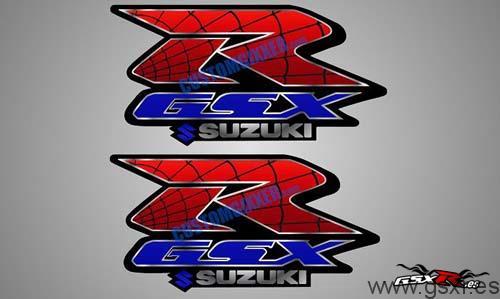 adhesivo tuning moto suzuki gsx-r