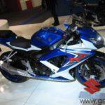 Moto Suzuki GSXR 750 2008 Stand de Suzuki Eicma 2007