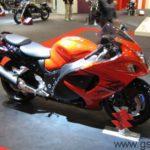 Moto Suzuki GSXR 1300 Hayabusa 2008 Stand de Suzuki Eicma 2007
