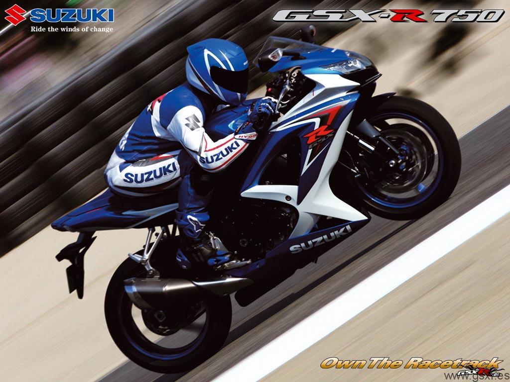 fondo de escritorio suzuki gsxr 750 2008 wallpaper