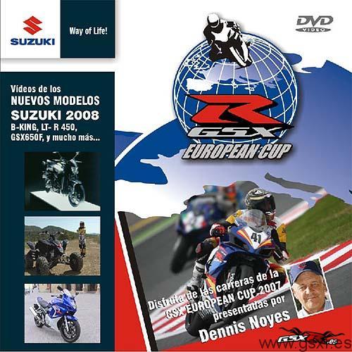 dvd suzuki gsx-r european cup