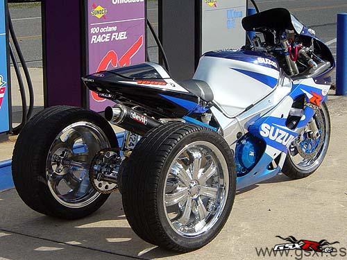 suzuki gsx-r 1000 trike triciclo