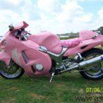 suzuki gsxr 1300 hayabusa rosa