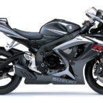 2007 Suzuki GSX-R 750 K7 Gris Metalico / Gris Fantasma Metalizado