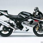2005 Suzuki GSX-R 600 K5 Plata Sonic Metalizado / Negro Sólido