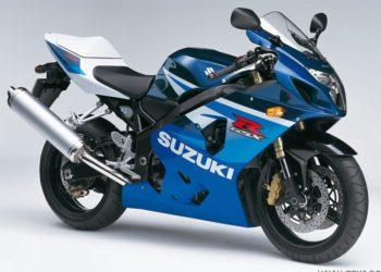 2005 Suzuki GSX-R 600 K5 Azul Profundo 2 / Blanco Cristal Jaspeado