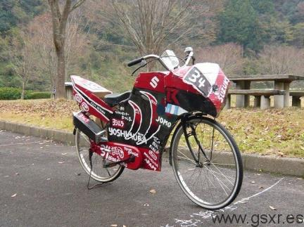 bicicleta clone suzuki gsxr 1000 endurance japon