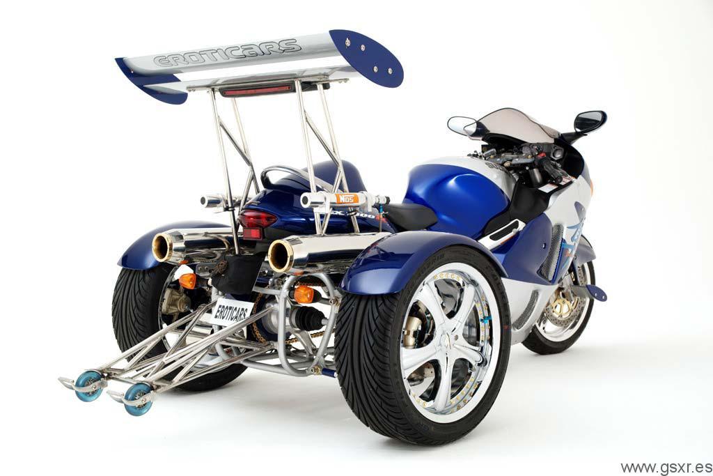 Suzuki GSXR 1300 Hayabusa Trike Triciclo