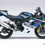 Suzuki GSX-R 750 2005 K5 Azul y Blanco