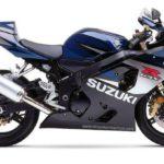 Suzuki GSX-R 750 2005 K5 Negro y Azul