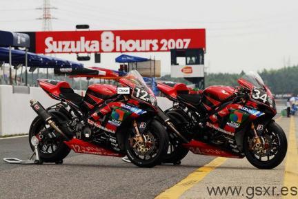 suzuki gsxr 1000 endurance japon