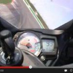 video onboard moto Suzuki GSXR 600 2008