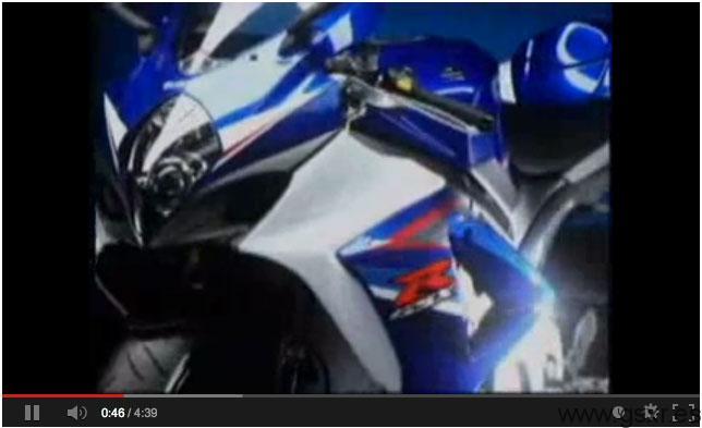 video suzuki gsxr 1000 2008 k8