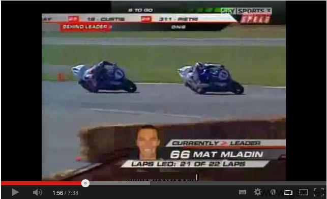 video AMA 2007 Mad Mladin vs Ben Spies