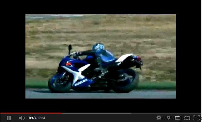 video suzuki gsxr 600 2008