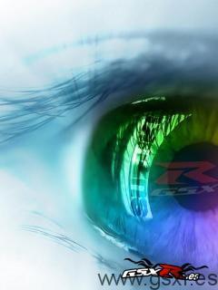 suzuki gsxr 2008 wallpaper mobile phone eye