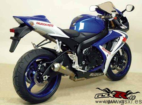 escape arrow street pro-racing suzuki gsx-r 600 2006 2007 k6 k7