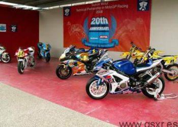 Motos Suzuki Superbikes Exposición en Le Mans