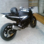 moto streetfighter police Suzuki GSXR 750 2001