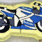 Tarta Moto Suzuki Bike Cake