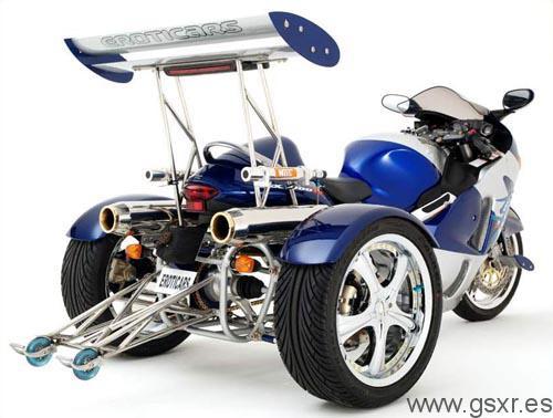 Suzuki GSX-R trike