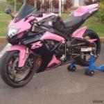 suzuki gsxr 600 2006 rosa y negro