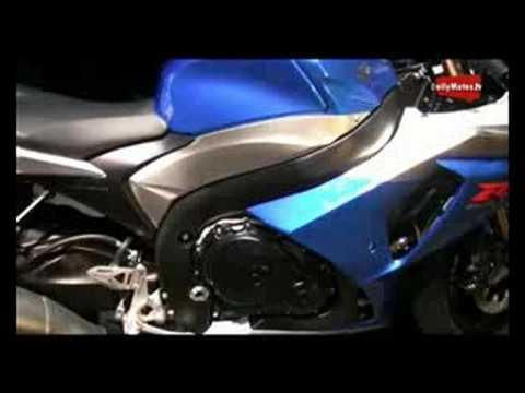 Presentación en París de la nueva Suzuki GSX-R 1000 2009. La superdeportiva de Hamamatsu pierde peso y gana en aerodinámica. Más supersport que nunca.