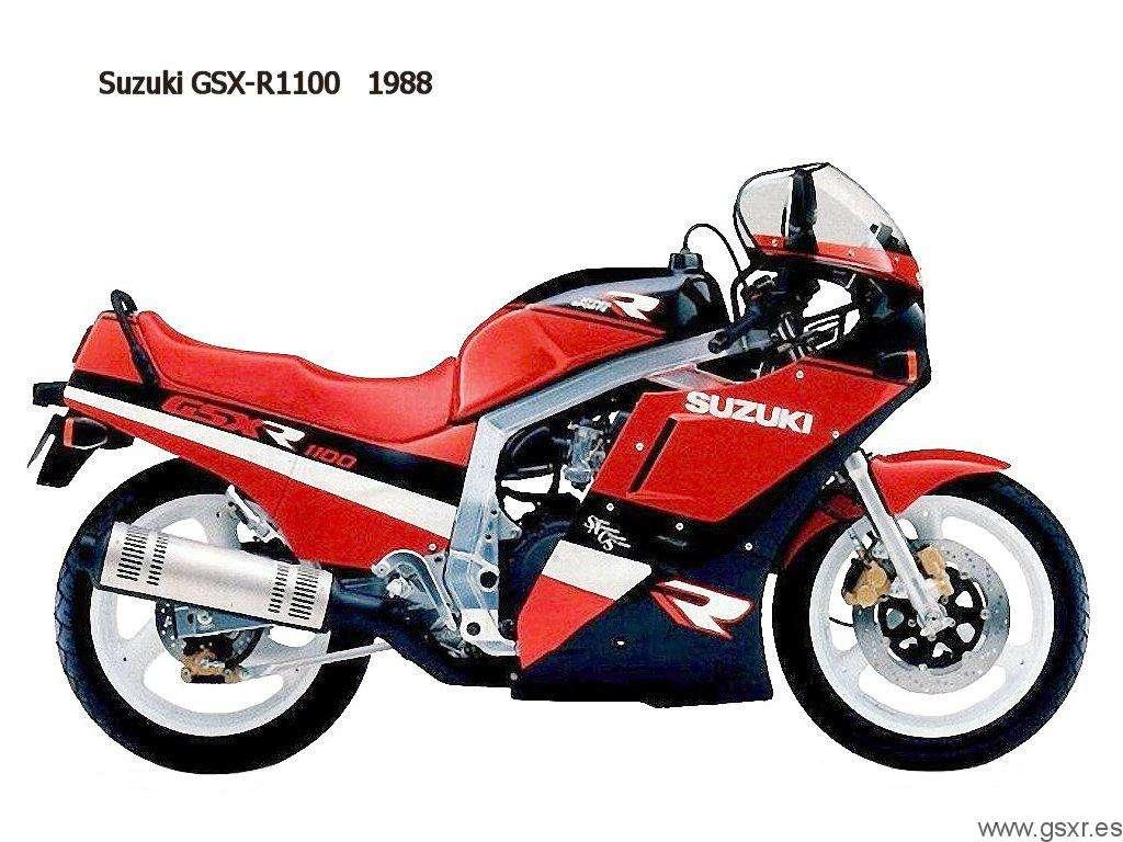 suzuki gsx-r 1100 1988