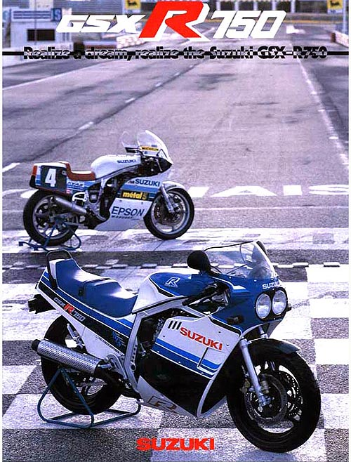 Anuncio 1985 Suzuki GSX-R 750