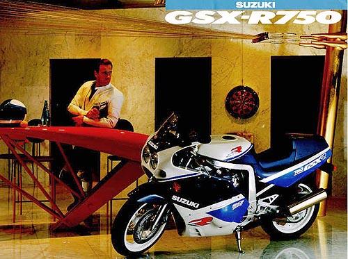 Anuncio 1989 Suzuki GSX-R 750