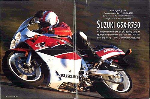 Anuncio 1990 Suzuki GSX-R 750