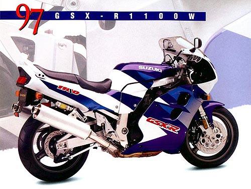 Anuncio 1997 Suzuki GSX-R 1100 W