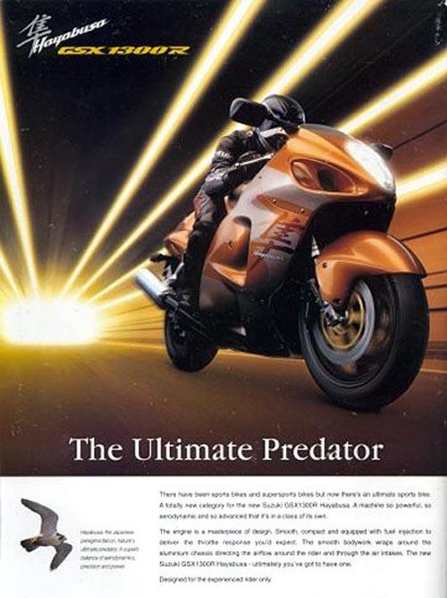 Anuncio 1999 Suzuki GSX-R 1300 Hayabusa