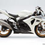 2009 Suzuki GSX-R 1000 K9 Blanco Cristal Jaspeado / Plata Mistic Metalizado