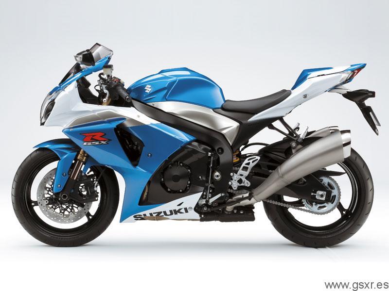 синий мотоцикл suzuki gsx r1000 бесплатно