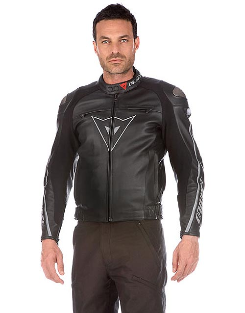 chaqueta moto delmar negro dainese