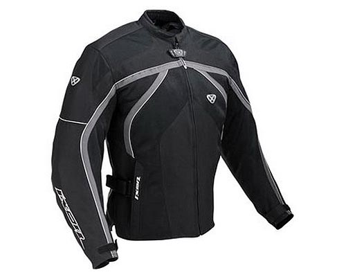 cazadora moto ixon carbonic negro