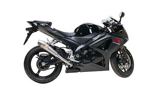 leo vince suzuki gsxr 1000 2007 k7 gp style