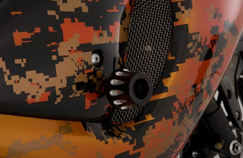 orange suzuki gsxr 1300 hayabusa roland sands design
