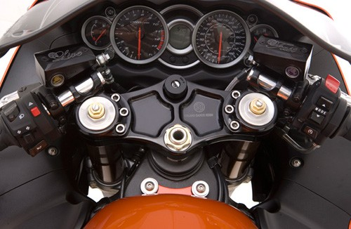 orange suzuki gsxr 1300 hayabusa roland sands design