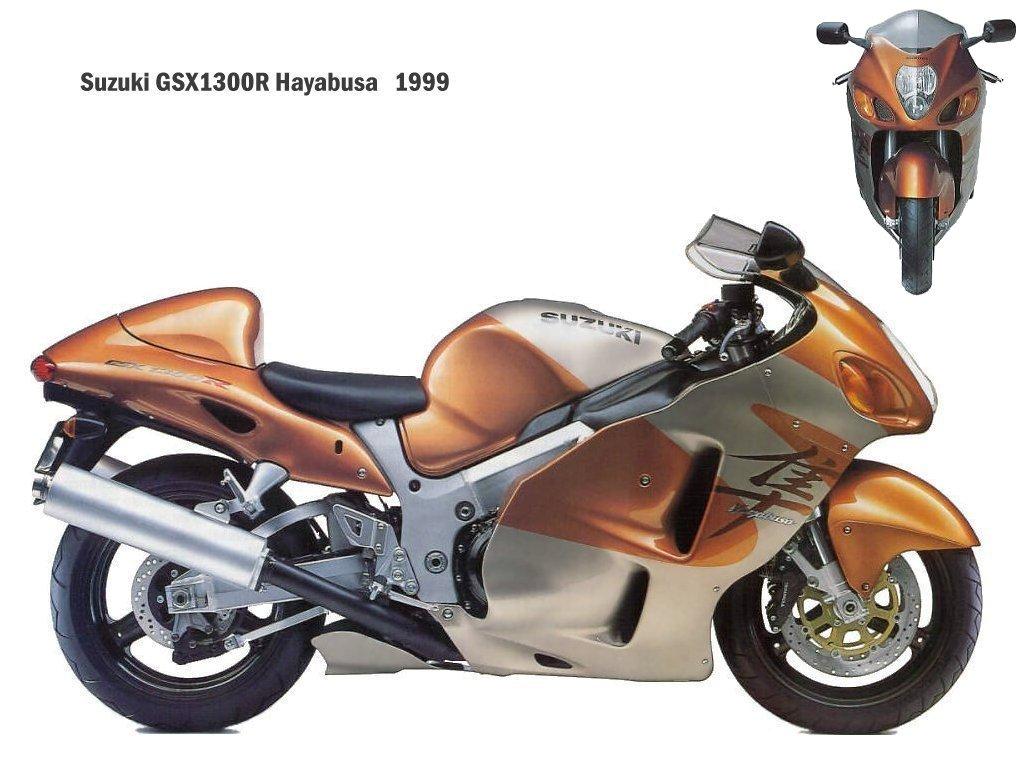 suzuki gsx-r 1300 hayabusa 1999