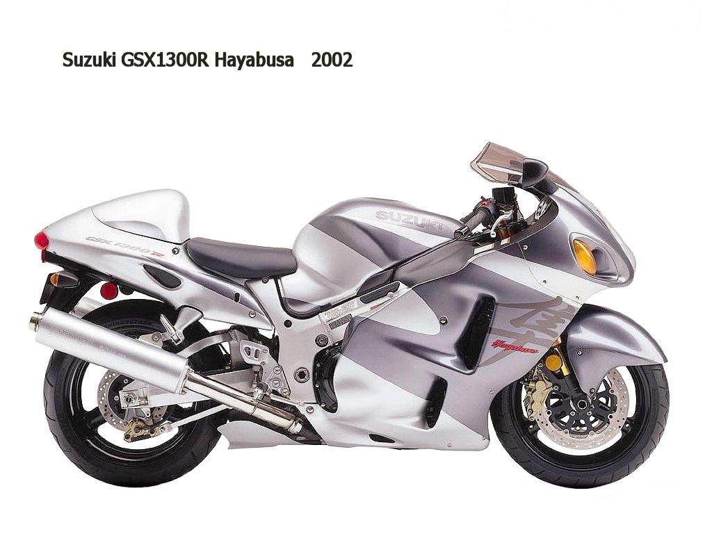 suzuki gsx-r 1300 hayabusa 2002