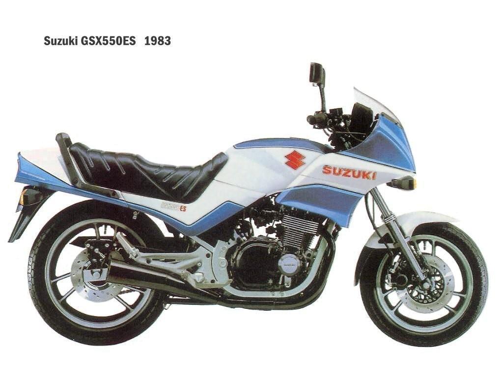 suzuki gsx550es 1983