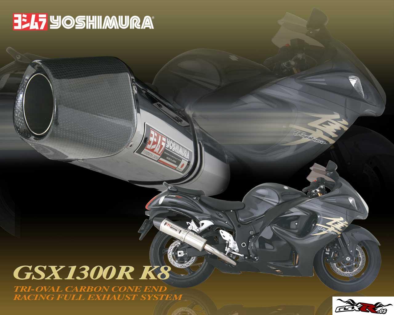 suzuki gsx-r 1300 hayabusa escape yoshimura wallpaper fondo de escritorio