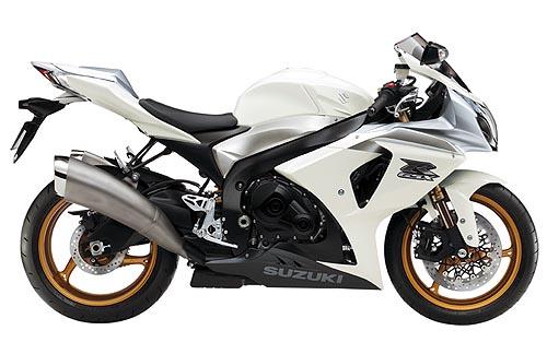 suzuki gsxr 1000 2009 K9 white blanca